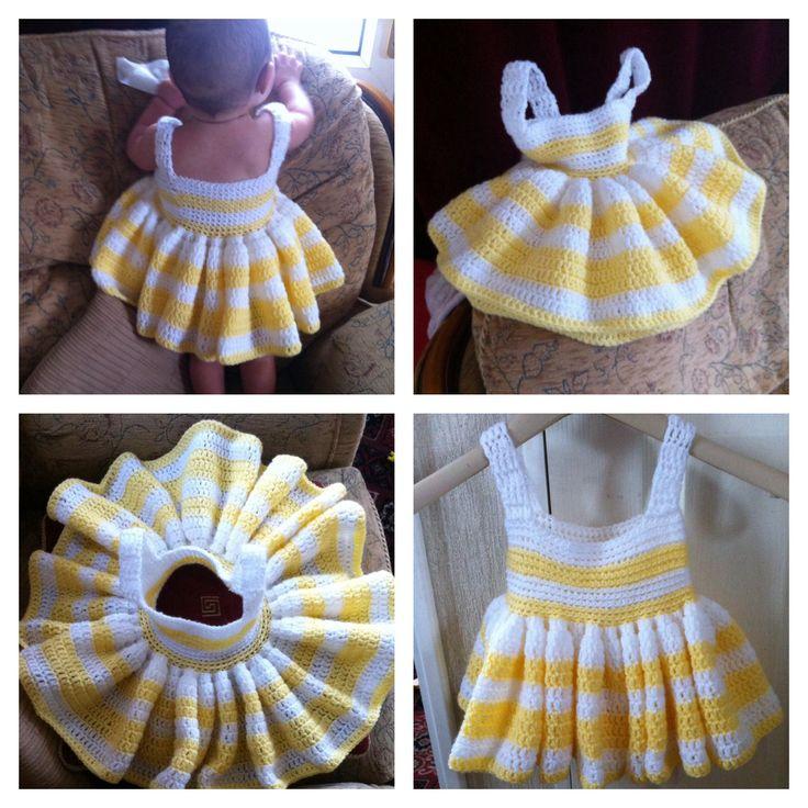 Crochet: baby dress