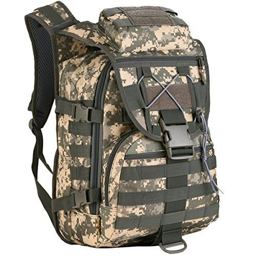 Military 40L Backpack Tactical Assault pack M0LLE Rucksack for Hunting Shooting Camping Hiking  Military 40L Backpack Tactical Assault pack M0LLE Rucksack for Hunting Shooting Camping Hiking  Expires Sep 5 2017