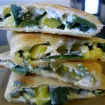 Grilled Poblano Pepper and Mango Quesadillas | Tree falling ...
