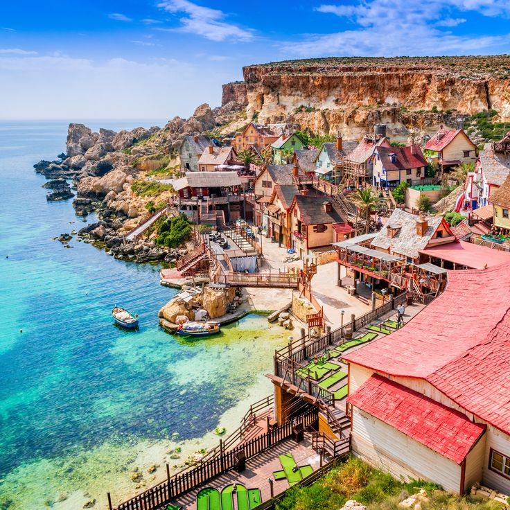 Meet Popeye Village, The Whimsical Abandoned Movie Set In