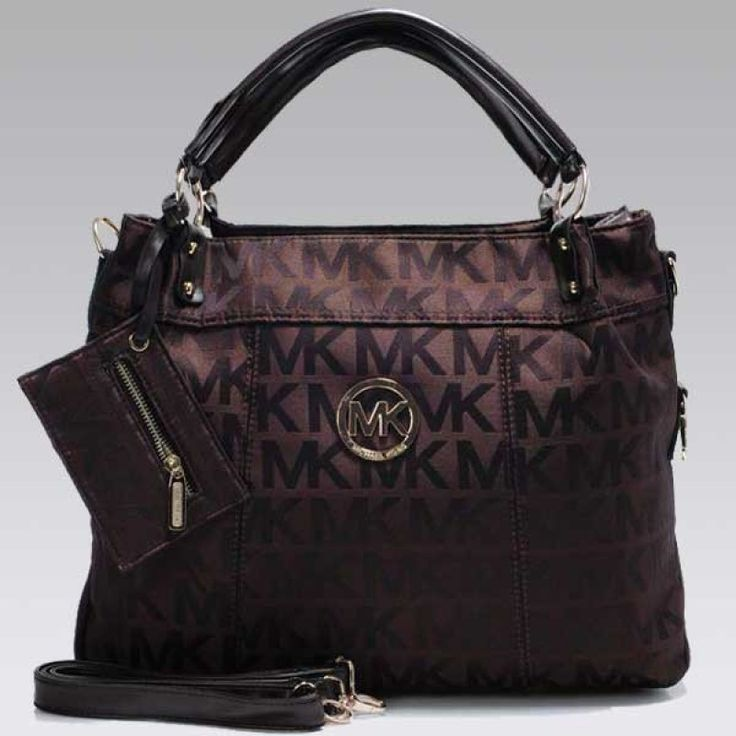 MICHAEL Michael Kors Large Hamilton Brown Tote