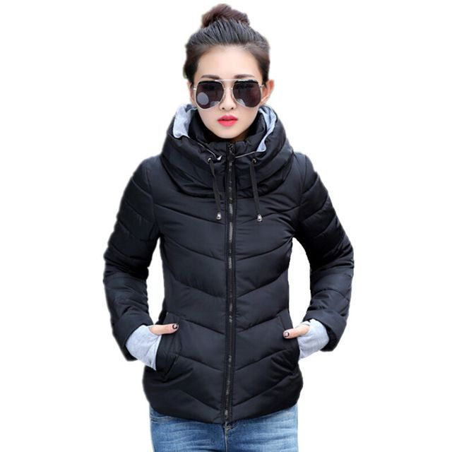 2016 Winter Jacket Women Parka Thick Winter Outerwear Plus Size Down Coat Short Slim Design Cotton-padded Jackets And Coats TD1  US $22.49 /piece  	 	 	  CLICK LINK TO BUY THE PRODUCT   http://goo.gl/4du0DP