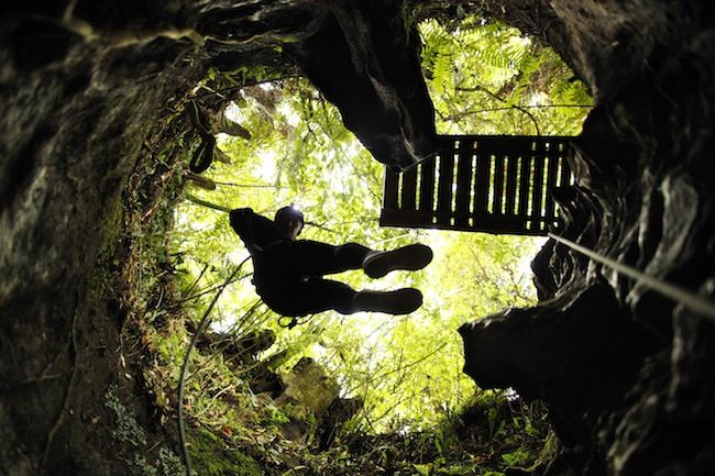 Getting Adventurous in the Waitomo Glow Worm Caves