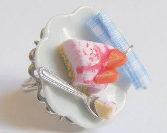 Alimentos joyería anillo de Zombie té sangre y anillo por NeatEats