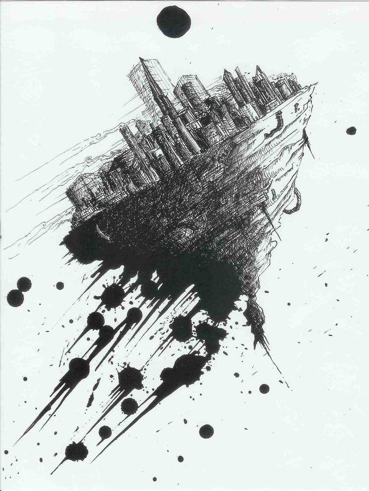 Floating City by DeadlySubconscious on deviantART