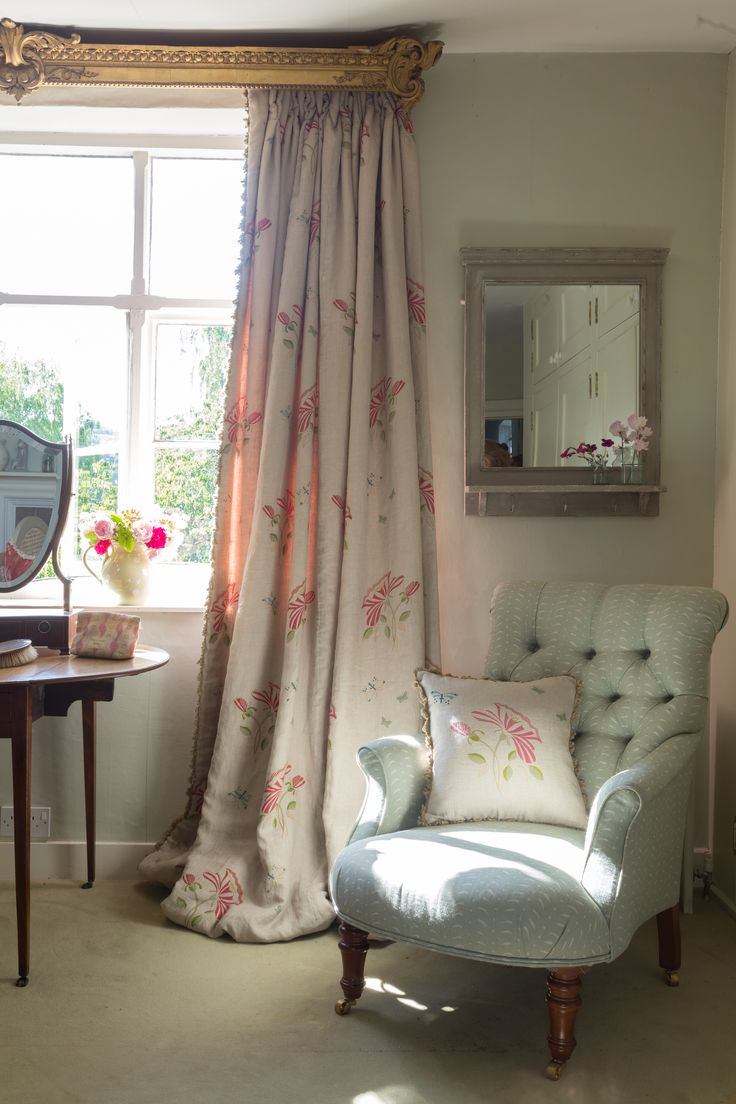 Create a space of your own to get dressed in the morning (or at night), with a gorgeous armchair, dressing table and thick curtains. Ideally bathed in sunlight!