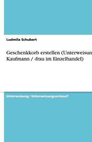 Geschenkkorb anlegen (Anleitung für Kaufmann / Frau im Handel) #korb #bus …