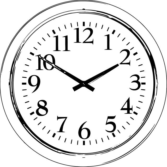 Elegant Image Of Clock Coloring Page Wall Clock Design Clock