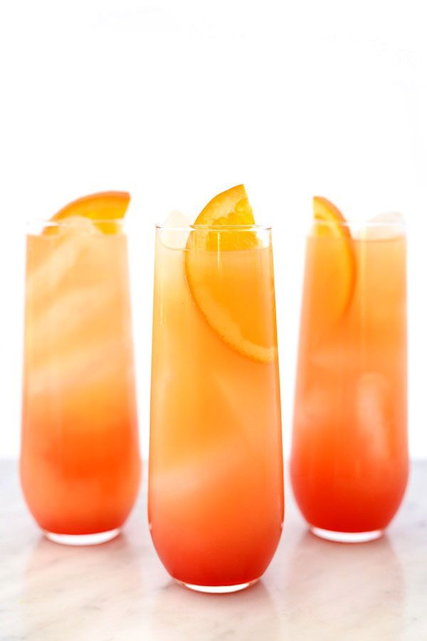 Tequila Sunrise Cocktail #drinks #tequila foodiecrush.com