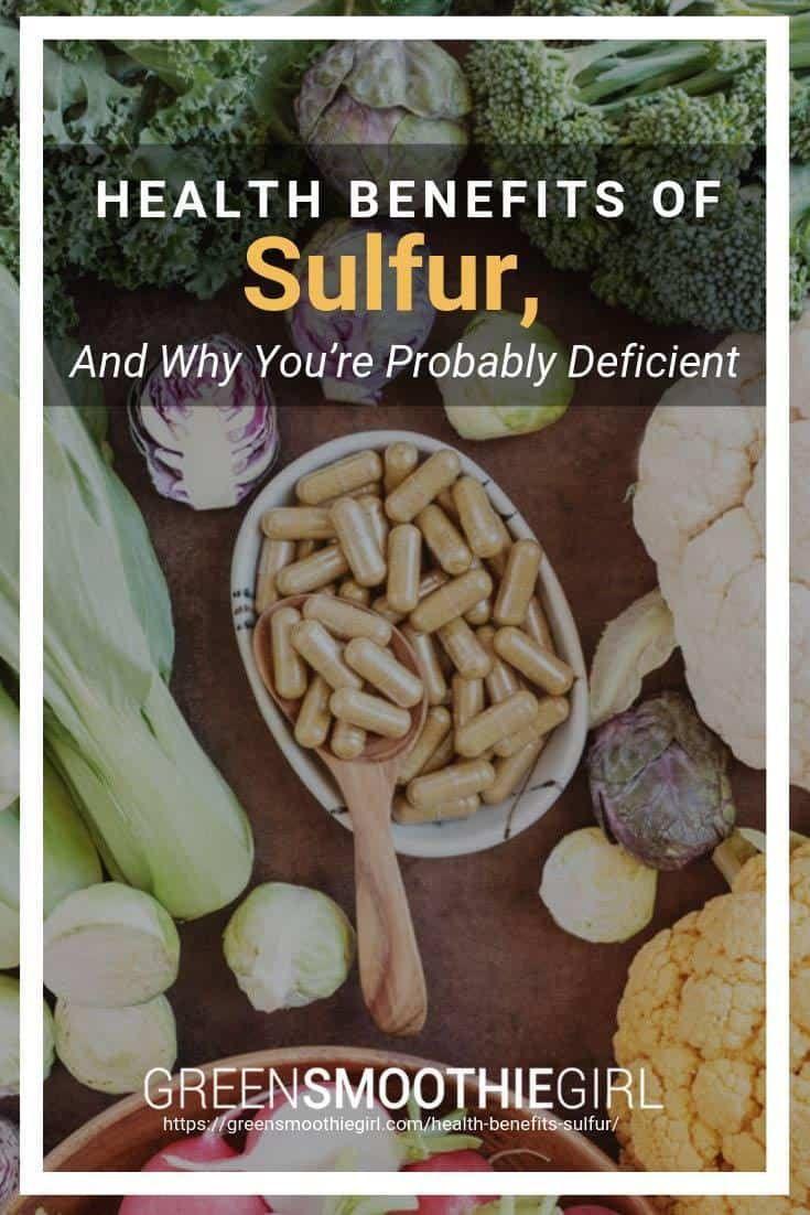 Erfahren Sie mehr über die gesundheitlichen Vorteile von Schwefel, …   – Healthy living