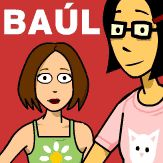 Baúl - Spanish (and English) animated educational videos.  Click the speech bubble for subtitles.