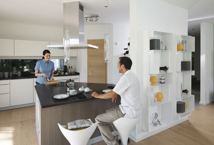 #passivhaus #ökologisch #energiesparend #ecofriendly #energysaving A state of the art kitchen saves energy and visually pleasing. // Eine topmoderne Küche spart Energie und sieht gut aus!