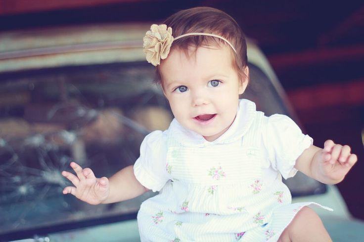 Burlap Headband, Burlap Baby Headband, Burlap Wedding, Flower Girl Headband by luxieblooms on Etsy https://www.etsy.com/listing/113135345/burlap-headband-burlap-baby-headband