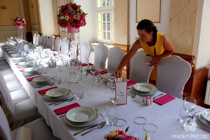 3. Pink Wedding,Centerpieces,Favors / Różowe wesele,Dekoracja stołu,Prezenty dla gości,Anioły Przyjęć