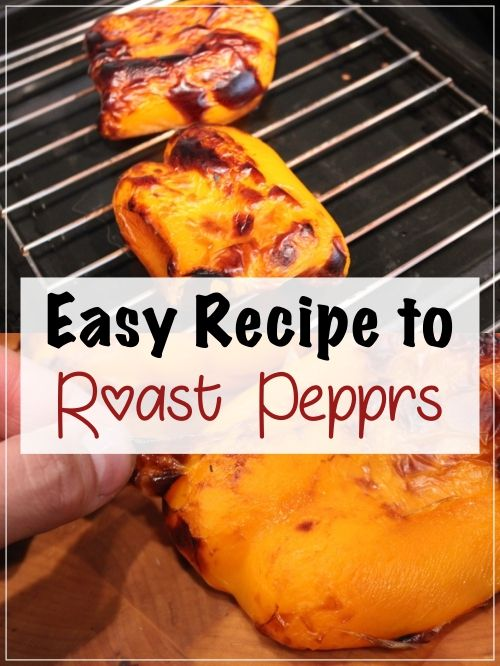I never knew it was so easy to roast peppers!