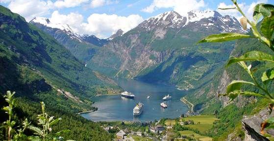 Hurtigruten-risteilyt Norjaan 7pv