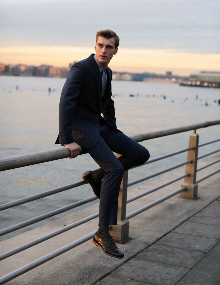 Sitting on the Dock of the Bay | Clément Chabernaud by Justin Chung for Armando Cabral Fall/Winter 2013