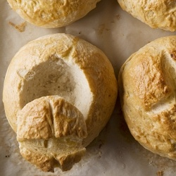 Homemade Bread Bowls by pictureperfectmeals