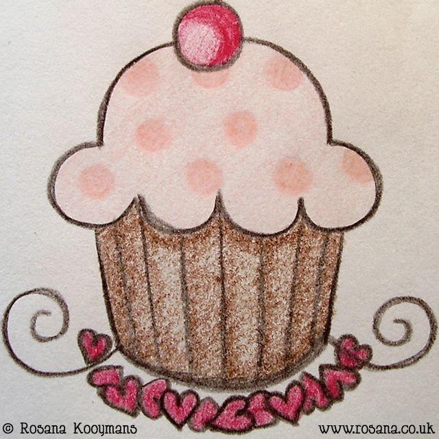 cupcake tekening - Google zoeken