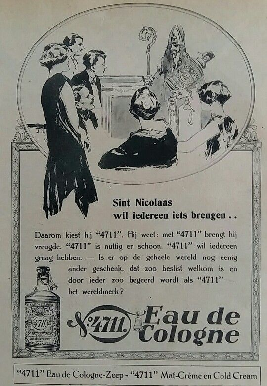 4711 Eau de Colonne advertentie 1928