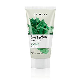 Masker yang menyegarkan dengan minyak esensial Tea Tree yang membantu membersihkan dan menjaga keseimbangan minyak pada kulit. Gunakan 1-2 kali seminggu pada wajah yang telah dibersihkan, diamkan selama 10 menit. Bilas bersih 50 ml. Kode:30154  Rp.39.900