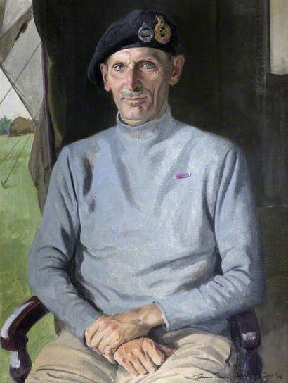 Field Marshal The Viscount Montgomery of Alamein and Hindhead (1887–1976), GCB, DSO by Herbert James Gunn