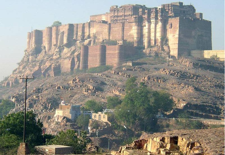 Place of great kings and warriors - Mehrangarh Fort