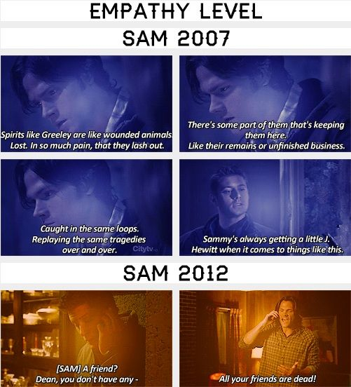 (gif set) Sam's Empathy
