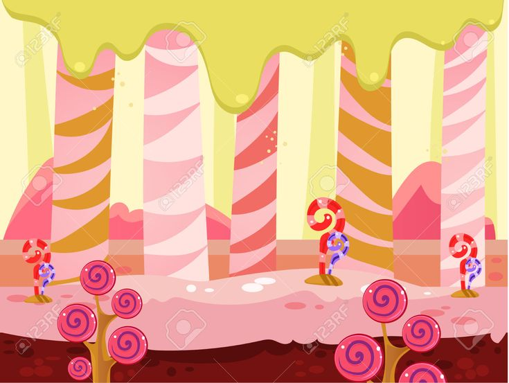 42690381-Cartoon-fairy-tale-landscape-Candy-land-illustration-for-game-background-Stock-Vector.jpg (1300×978)