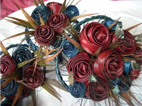 Harakeke puti puti = flax flowers