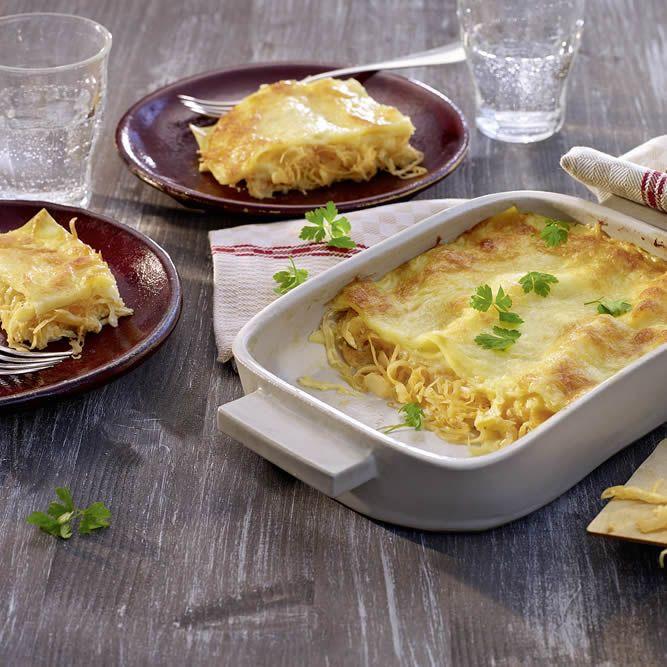 Lasagne schmeckt auch super ohne Hackfleisch. Unser Sauerkraut-Lasagne-Rezept ist eine hervorragende Alternative für Vegetarier.