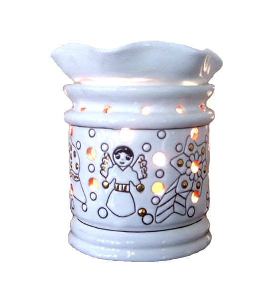 Electric Wax Warmer - Christmas Decoration by ESENSSIA on Etsy