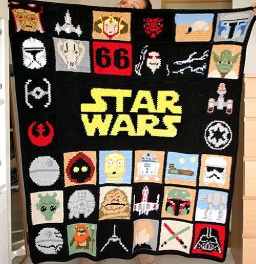 Star Wars Blanket Free Pattern Crochet For Children Crochet