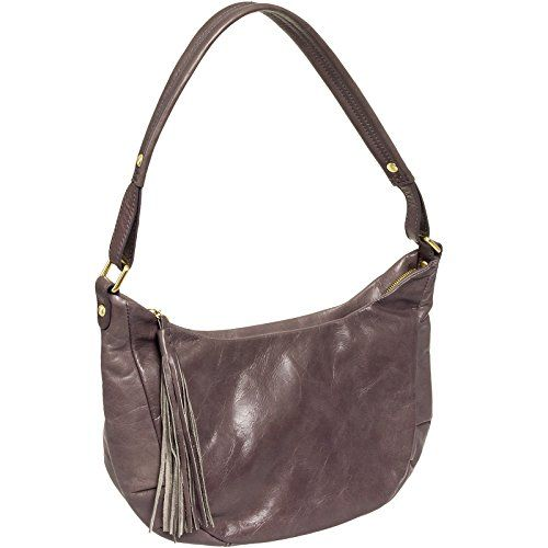 Hobo Women's Leather Vintage Alesa Shoulder Handbag Purse (Granite) -- You can find more details by visiting the image link. #ShoulderBag