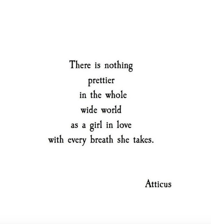 'Every Breath' @atticuspoetry                                                                                                                                                                                 More