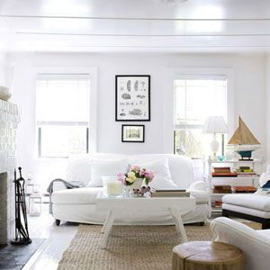 How to clean everything white