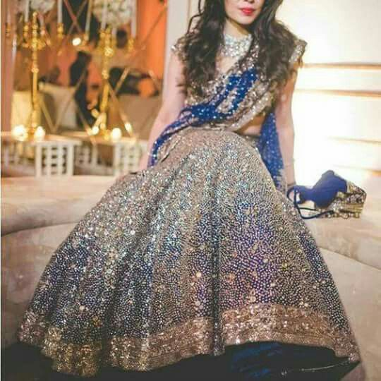 Fabric - Raw Silk and Premium net Work - Intricate hand work of mirror and sequins