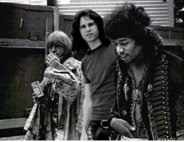 brian jones, jim morrison & jimi hendrix. I have a feeling Jim M has been Photoshopped in. Let us know if you know differently. Prints on...