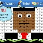 These PowerPoint games keep the whole class focused and engaged and lets you get other work done!  Teachers are LOVING these games!  They can work one-on-one with kids while the class practices math skills.  There are no early finishers!  The whole group stays together!  Martin Luther King picture is available in Expanded Notation, Mixed Operations, and Hundreds Chart Fun.  Pick the skill that is right for your kiddos!
