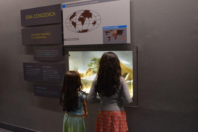 El Museo de Historia Natural tiene divertidos paneles explicativos para los más pequeños