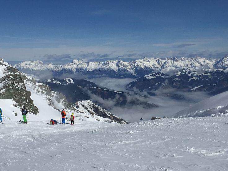 Kitzsteinhorn Itävalta