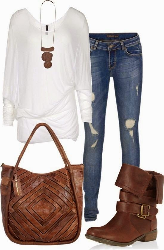 I want this entire ensemble!! Especially purse and boots!!!! Please???!!!