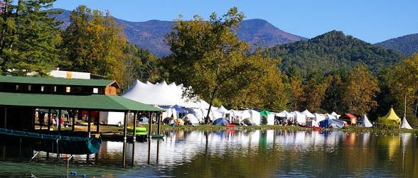 LEAF Festival: Lake Eden Arts Festival, Black Mountain near Asheville (May and October) Love, love, love it there!  Can't wait to go back...