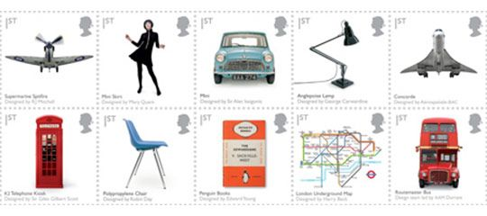 Classic British Design Stamps