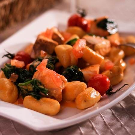 Lazacos-spenótos gnocchi --Mindmegette.hu