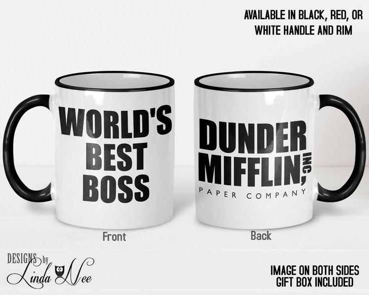 The Office TV Show Mug, Dunder Mifflin Paper Company, World's Best Boss Mug, Michael Scott, Dwight Schrute, The Office Tv Show Gift MSA410 #theoffice #mug #coffee #coffeemug #gift  #dunder #mifflin LOL #worldsbestboss #boss #best boss #designsbylindanee