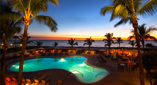 Lido Beach Resort Pool, Sarasota, Florida