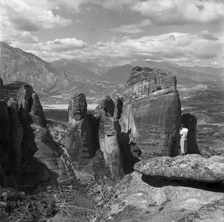 Meteora 1961. Photo © Robert McCabe. Robert McCabe Greece: Images of an Enchanted Land, 1954-1965