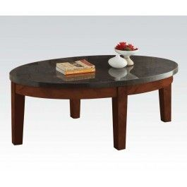 ACMEF81745-Oval Coffee Table
