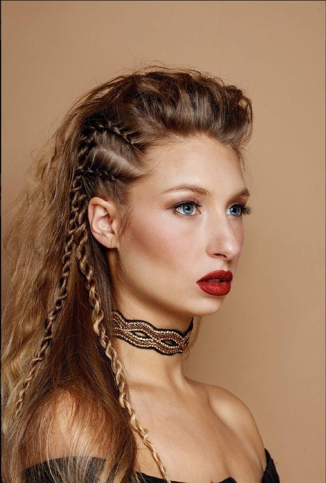Let Your Inner Braid Warrior Roar Sheboss Viking Hair Braided Hairstyles Hair Styles
